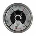 PIONEER優質100mm全不鏽鋼電接點壓力表 8