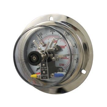 100mm不锈钢电接点压力表 10