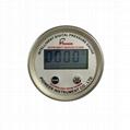 Internal source digital display pressure gauge