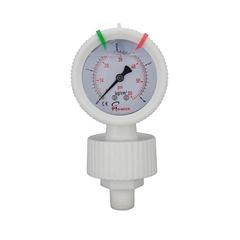 PP diaphragm pressure gauge