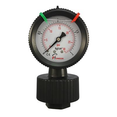 过滤机用PP隔膜压力表 1
