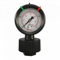过滤机用PP隔膜压力表