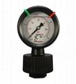 过滤机用PP隔膜压力表 4