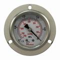 PIONEER优质63mm面板式耐震真空压力表
