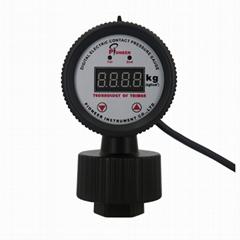 优质PIONEER牌63mm耐酸碱PP远程数显压力表