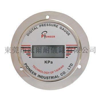 100mm面板式数显压力表 1
