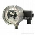 全不锈钢耐震电接点压力表 3