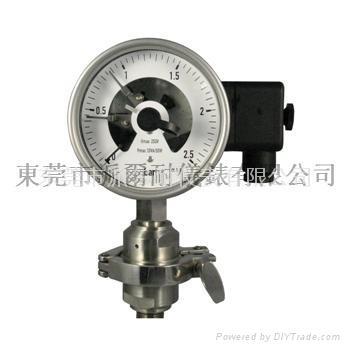 电接点隔膜压力表 2