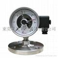 电接点隔膜压力表 3
