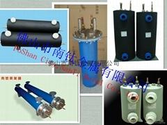 Corrosion resistance of titanium tube heat exchanger