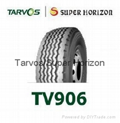 Tarvos brand truck tyre 385/65R22.5