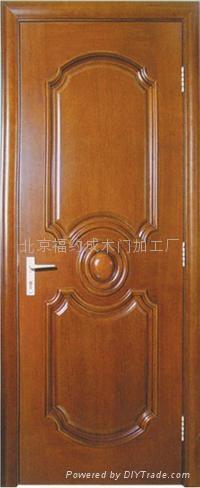 實木復合套裝門 1