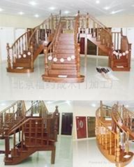 別墅實木樓梯