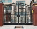 wrought iron gate with pretty competitive price