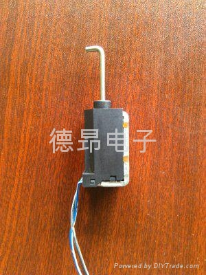 汽车挂档器电磁铁 1