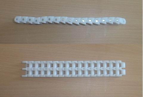40#双排带扣塑料链条 1