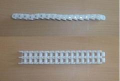 40#雙排帶扣塑料鏈條