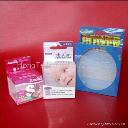 High Quality Plastic PET/PP/PVC package/packing box   1