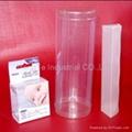 PET Foldable Plastic Packing gift Box