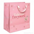 Pink Shopping Bag With Handle