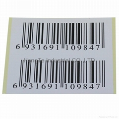 Supermarket high temperature barcode labels