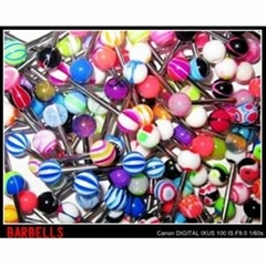 Acrylic body jewelry wholesale