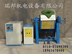 多晶硅提纯用的中频熔炼炉