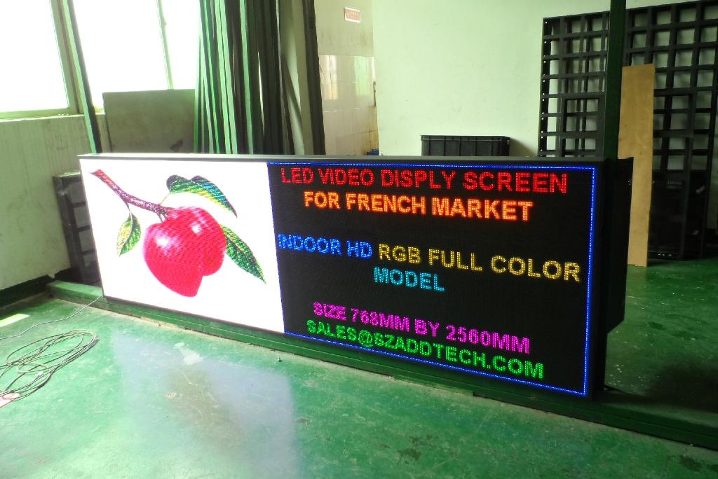 Indoor SMD Full Color LED Panel Screen 2
