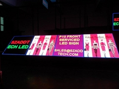 Front Serviced LED Sign