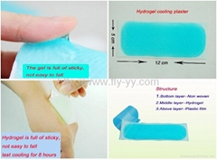 Fever cooling gel patch for adults&child