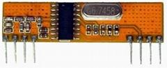 315M无线射频超外差接收模块RXB6高性价比遥控窗帘机
