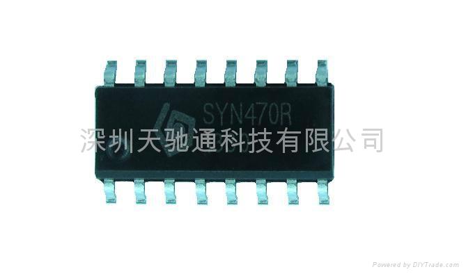 超外差无线接收芯片SYN470R SYN450R  1