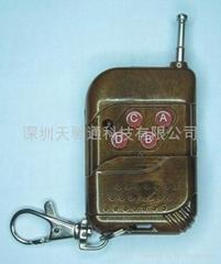 无线桃木4键桃木遥控器