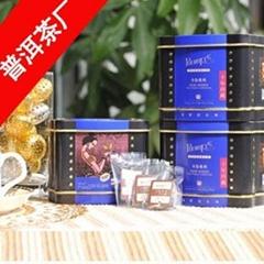 口感甘醇潤滑順口10年年份陳年普洱袋泡茶