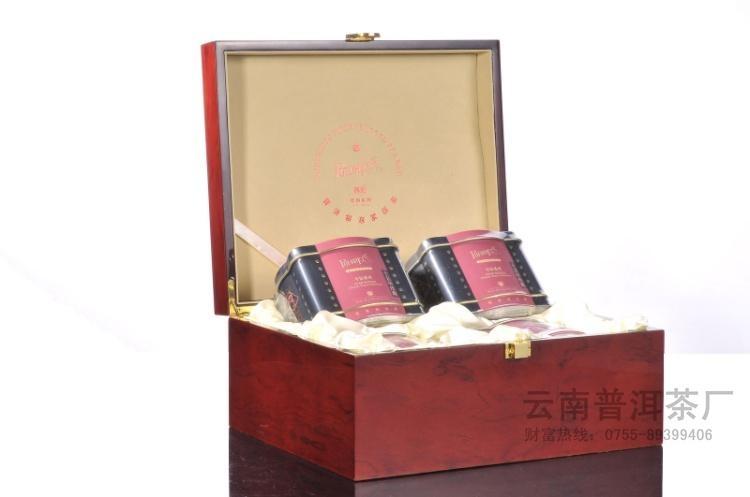 高档木盒包装高端礼品袋泡茶 2