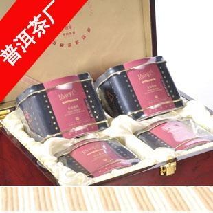 高档木盒包装高端礼品袋泡茶 1