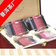 高檔木盒包裝高端禮品袋泡茶
