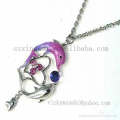 low price 2011 fashion necklace
