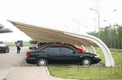 双挑膜结构车棚