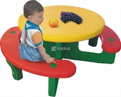 Rotomolding plastic furniture kids chair and desk