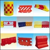 Rotomolding Traffic Safety Barrier