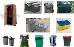 Plastic Garbage Bin dustbin