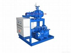 JZJ2B serise roots water ring vacuum pump unit