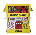 BO-X07 Safety Lockout Kit ,lockout Station for locks