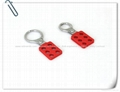 BO-K11/K12 Vinyl Coated Aluminum HASP, Safety HASP lockout