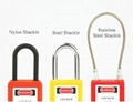 BO-G21 76mm long shackle steel  Padlock ,master key padlocks