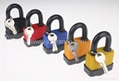 BO-G51 40mm blue short Laminated Padlock , Safety Lockout