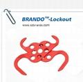 BO-K62 Double-end  steel HASP lockout ,
