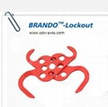 BO-K62 Double-end  steel HASP lockout , Safety HASP lockout