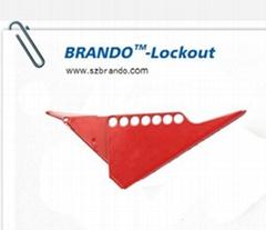 BO-F03/F04 Standard Ball Valve Lockout, Safety lockout